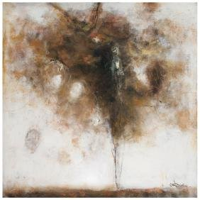 AGUSTIN CASTRO LOPEZ, Untitled, Signed, Oil on canvas,