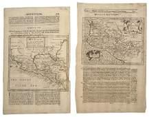 Hondius Jodocus  Moll Herman Hispania Nova  Mexico