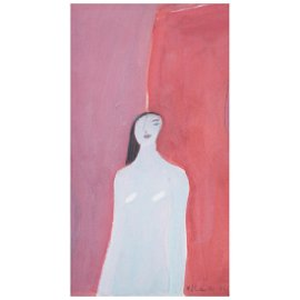 JOY LAVILLE, Untitled, Signed and dated 86, Gouache on