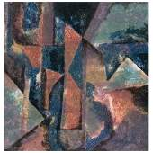 MIGUEL ÃNGEL ALAMILLA, Abstracto, Signed and dated 91,