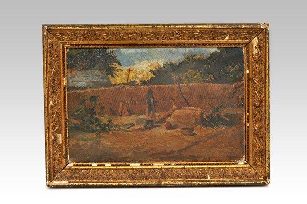 4: Oil on canvas