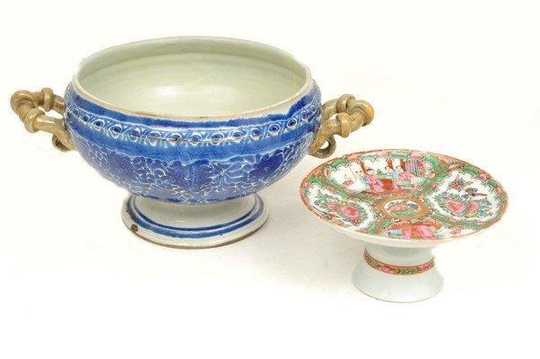12: two ceramic pieces
