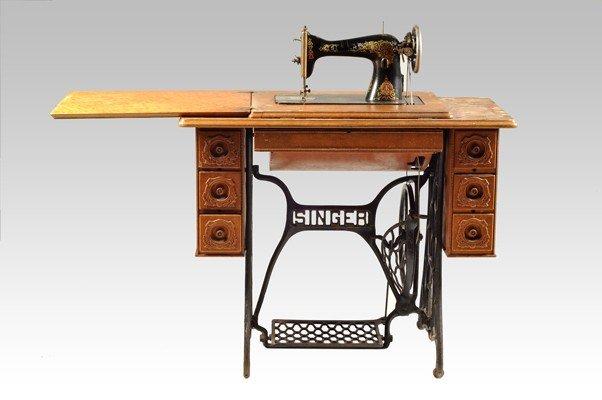 17: Sewing machine