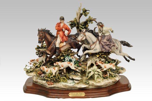 102: A Capodimonte porcelain figurine