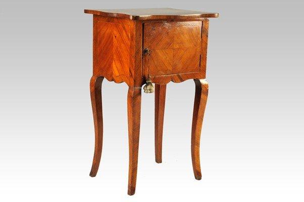 7: Plated wood bureau