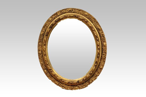 15: Wood and paste Mirror