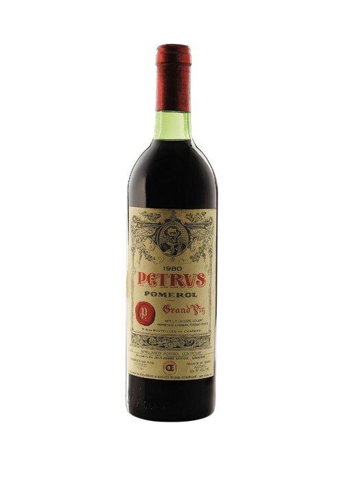 Petrus. Cosecha 1980. Grand Vin. Pomerol. Nivel: en el