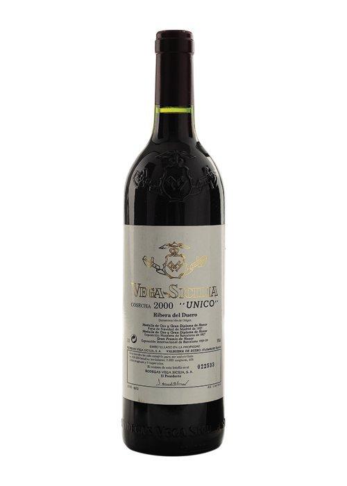 """Vega Sicilia """"Único"""". Cosecha 2000. Ribera del duero."""