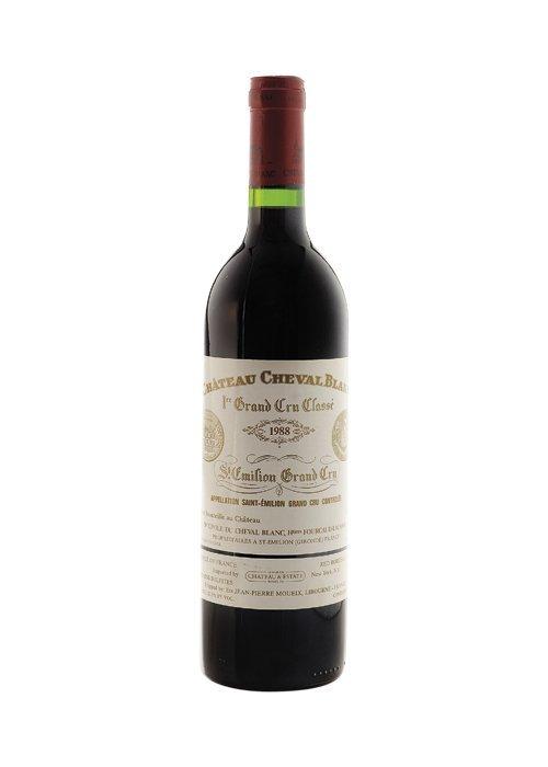 Chateau Cheval Blanc. Cosecha 1988. 1er Grand Cru