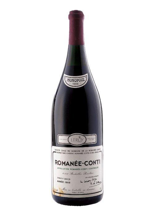 Romanée Conti, Doble Mágnum. Cosecha 1988. Vosne