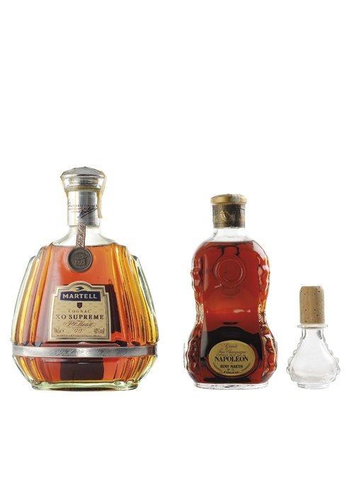 Martell. XO Supreme / Remy Martin. Napoléon. Cognac.