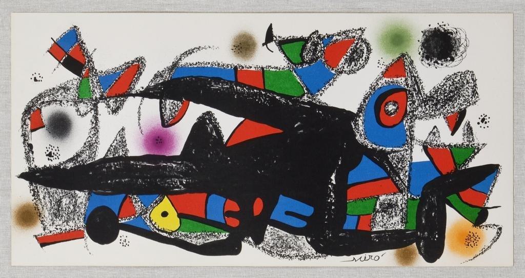 JOAN MIRÓ, Miró Escultor, Denmark, 1975, Firmada en
