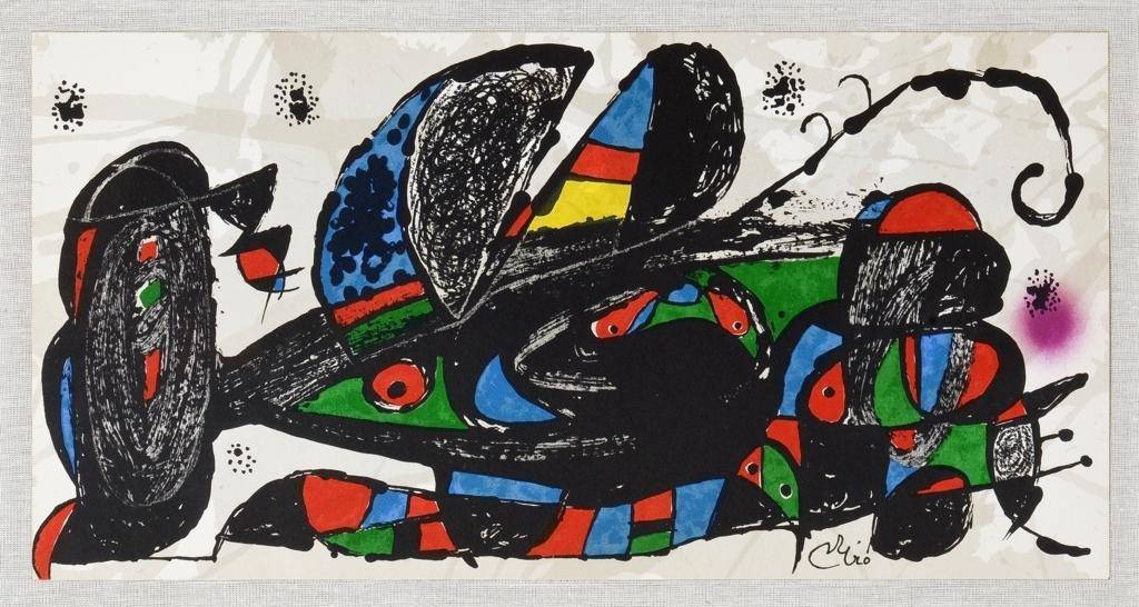 JOAN MIRÓ, Miró Escultor, Irán, 1975, Firmada en