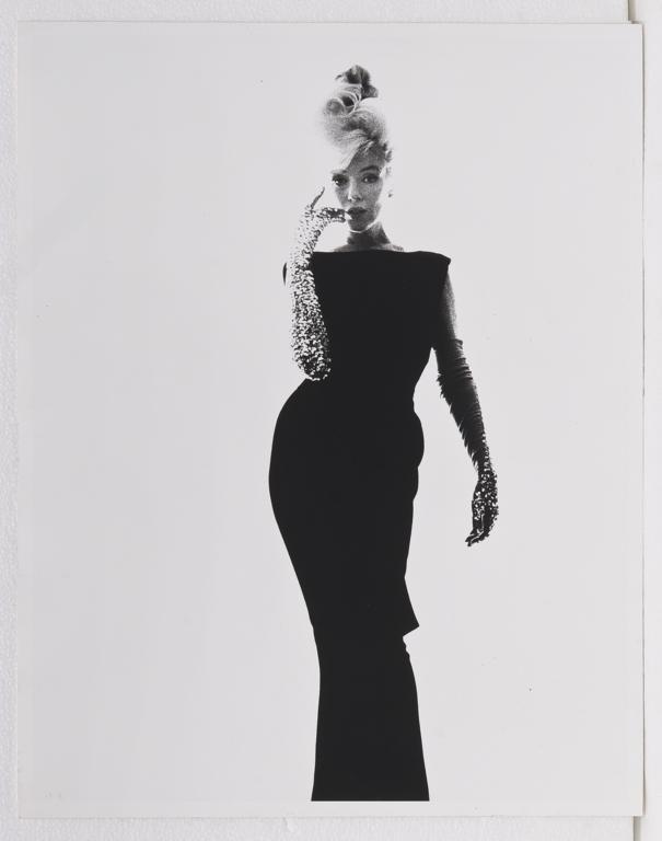 BERT STERN, Marilyn Monroe in Black Dress, 1962,