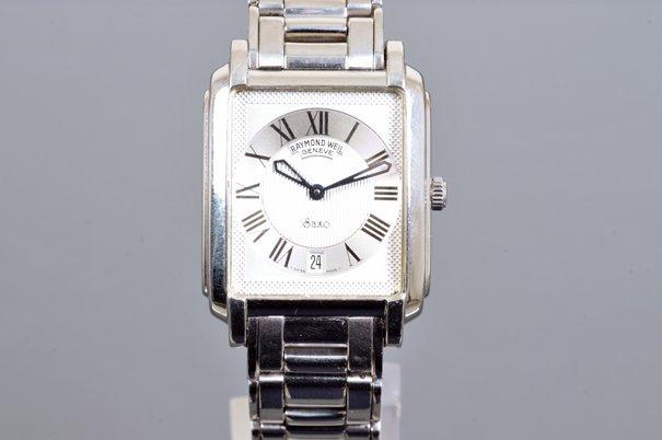 Reloj para caballero. Marca Raymond Weil. Elaborado en