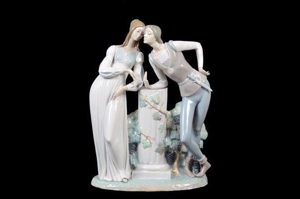 Romeo y Julieta. Origen español. Elaborado en porcelana
