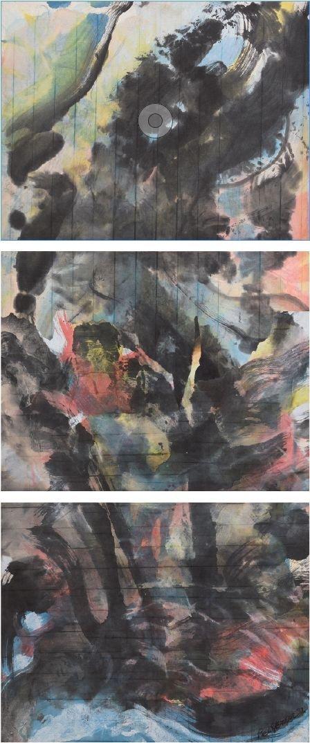 RAÚL HERRERA, Árboles del principio, de la serie Del