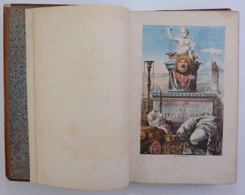 Zamacois, Niceto de.  La Destrucción de Pompeya.