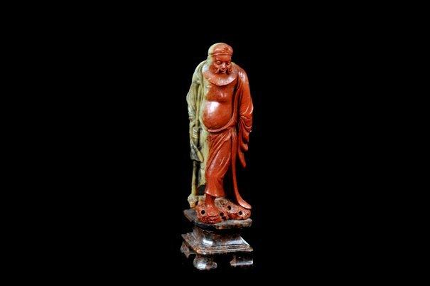 Anciano oriental. Origen chino. Siglo XX. Elaborado en