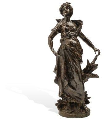 CERES  FRANCIA, SIGLO XX.  Fundición en bronce