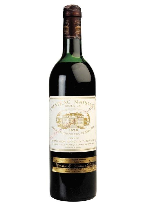 Chateau Margaux.  Cosecha 1979. Grand Vin. Premier