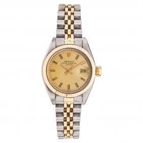 Reloj Rolex Oyster Perpetual Date, Ca. 1980-1981 Caja