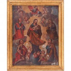San JosÉ Con NiÑo, Con San JoaquÍn, Santa Ana, La