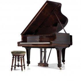 Piano Steinway De Media Cola Eua,finales Del Siglo
