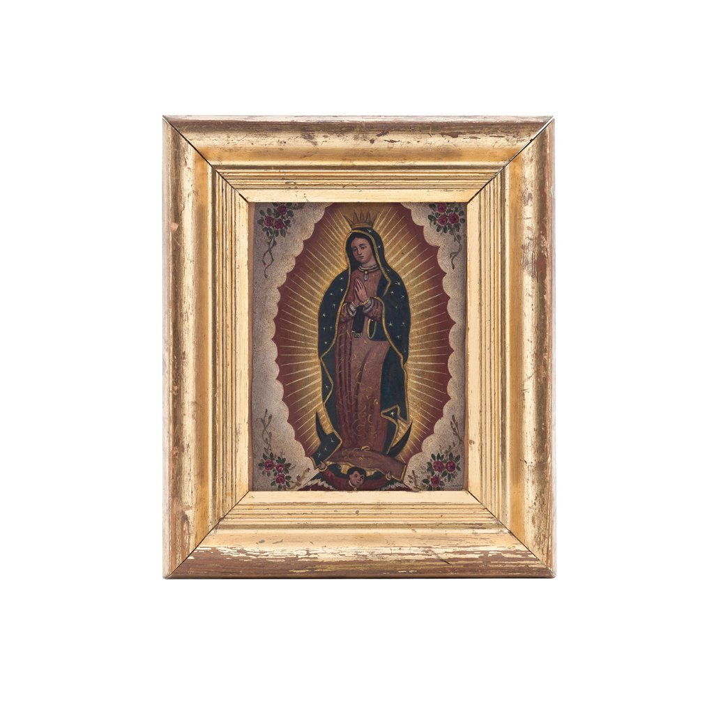 LOT OF IMAGES OF OUR LADY OF GUADALUPE. MÉXICO, first