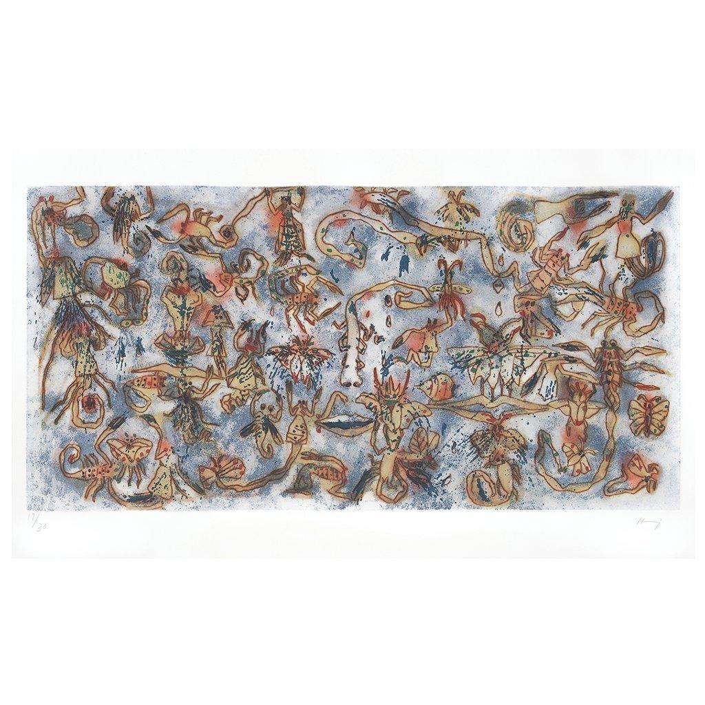 SERGIO HERNaNDEZ, Escorpiones, Signed, Engraving 19 /