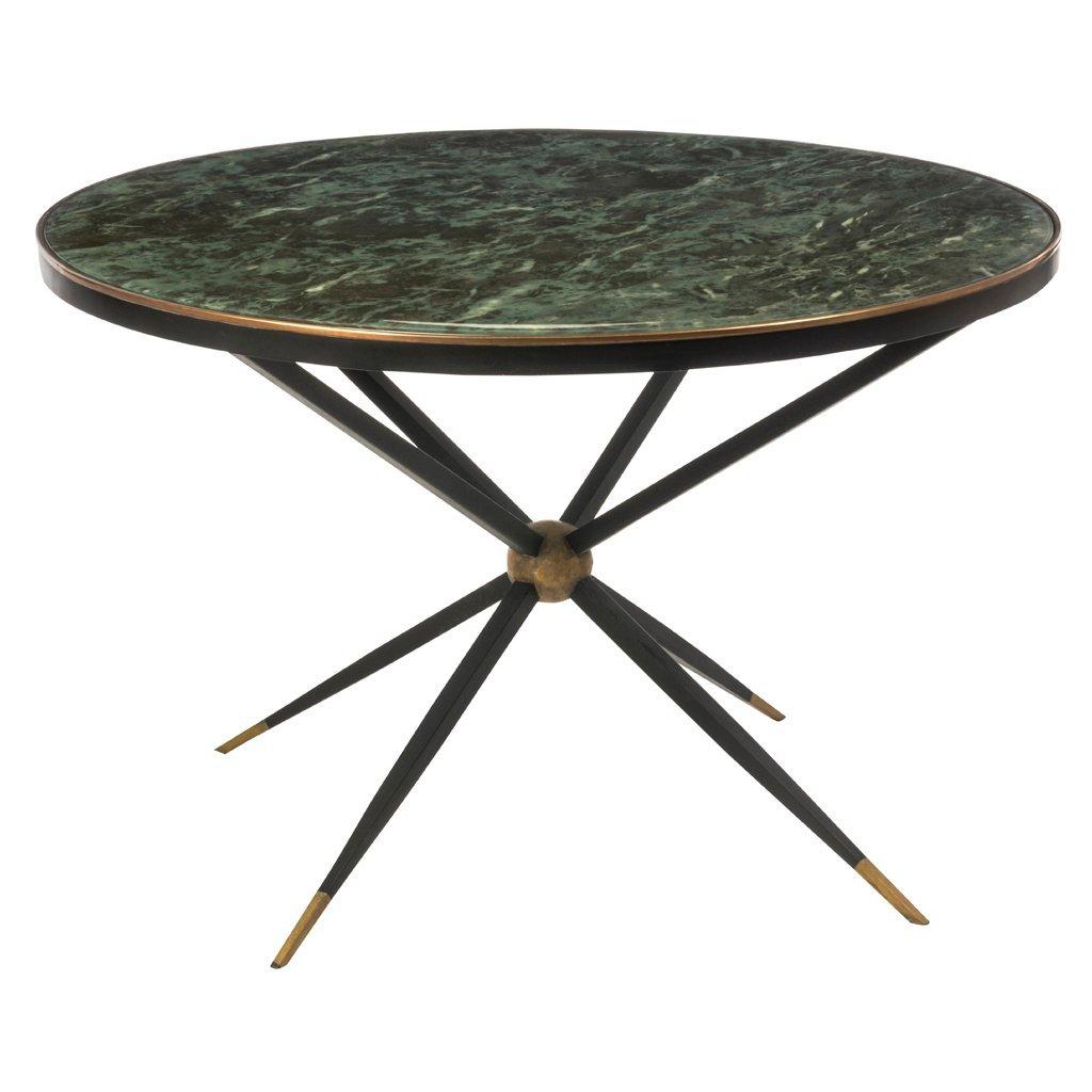 Arturo Pani. 1950 s. Circular beveled glass and iron