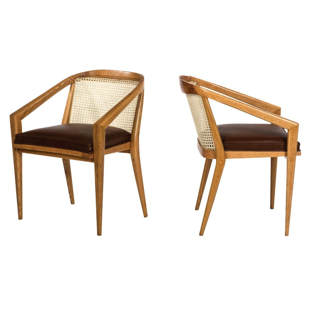 Harold M. Schwartz for Romweber. 1960 s. Pair of wood,