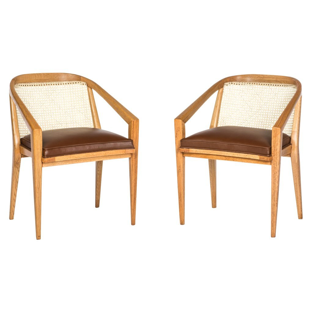 Harold M. Schwartz for Romweber. 1960 s. Pair of wood,