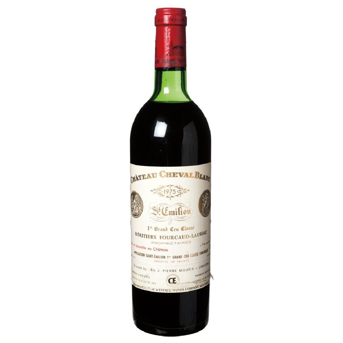 Chateau Cheval Blanc. Vintage 1975. 1er Grand Cru