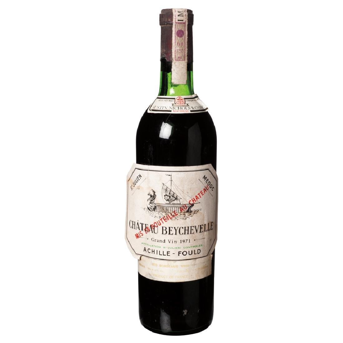 Chateau Beychevelle. Vintage 1971. Grand Vin. Saint