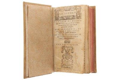 Alighieri, Dante. La Divina Comedia. In Vinegia