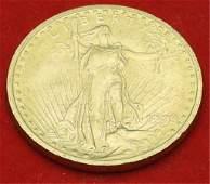 1908 $20 U.S. Gold Coin