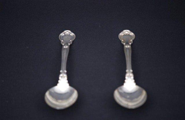 5: Pair Of Gorham Sterling Silver Serving Spoons