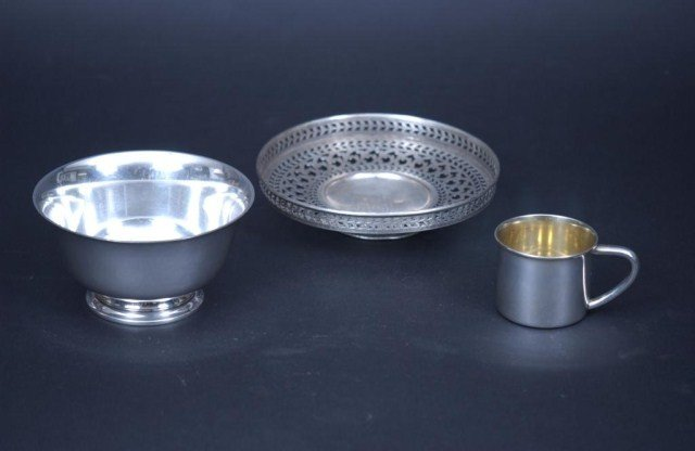 11: 3 Piece Sterling Silver Lot