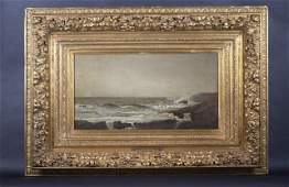 276: Attributed to William Trost Richards Oil on Canvas