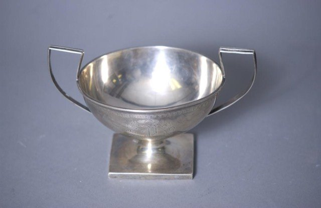 7A: Sterling Silver D.Low & Co. Waste Bowl