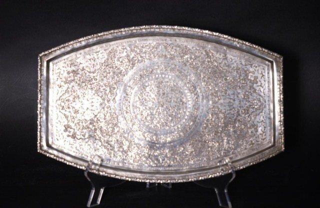 10A: Persian Silver Tray
