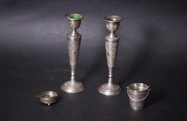 10C: 4 Persian Silver Items