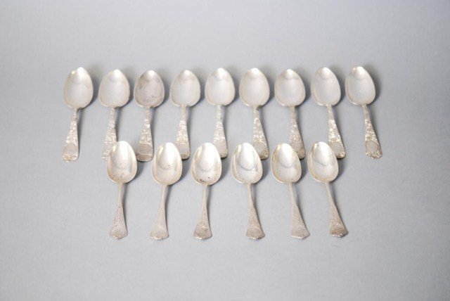 21: 15 PIECES OF SS FLATWARE