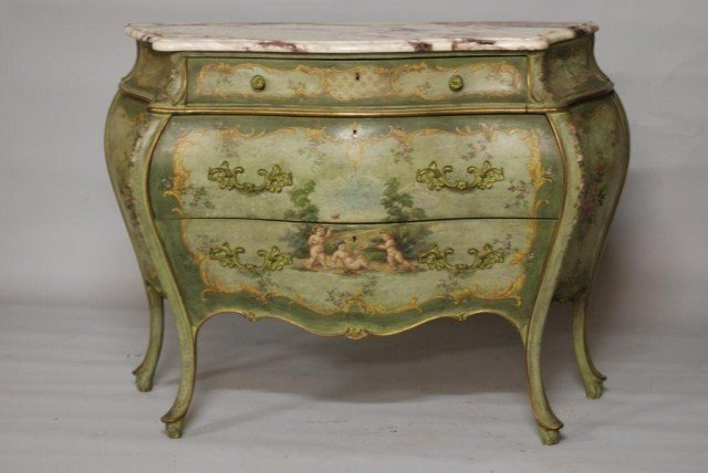 320: LOUIS XVI STYLE MT COMMODE