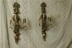 331 PR LOUIS XV STYLE WALL SCONCES