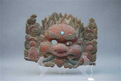 99: ANTIQUE CHINESE MASK