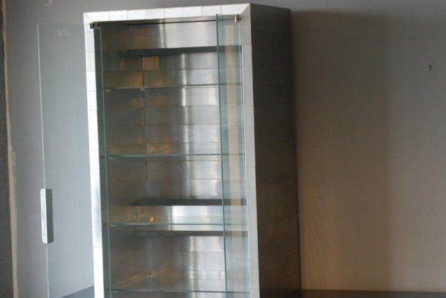 207: PAUL EVANS CITYSCAPE DISPLAY CABINET - 4