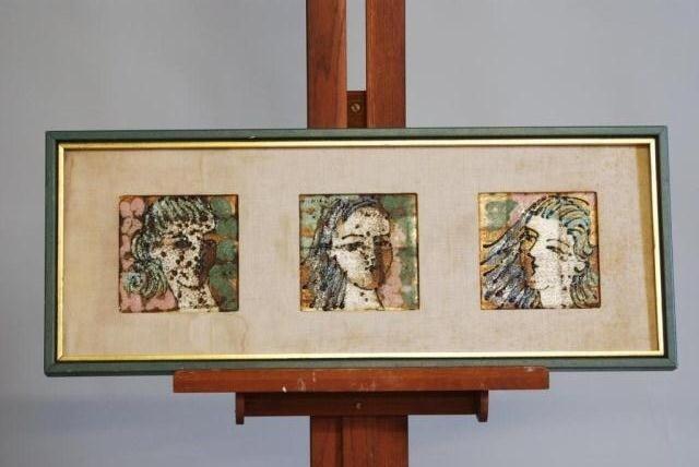 279: MID-CENTURY MODERN HARRIS G. STRONG ART WORK