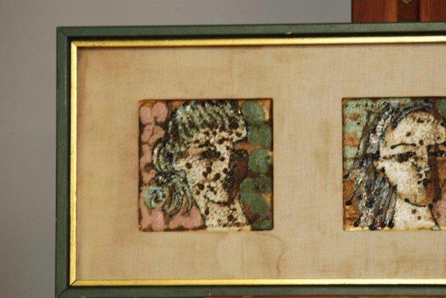 279: MID-CENTURY MODERN HARRIS G. STRONG ART WORK - 2